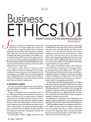 Business Ethics 101