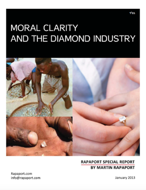 Moral Clarity and the Diamond Industry